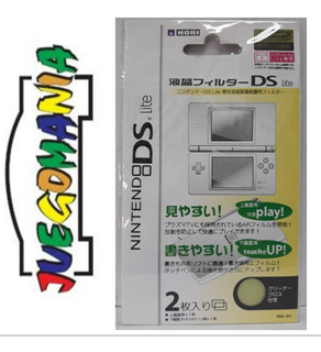 Mica Nintendo Ds Lite Protector De 2 Pantallas
