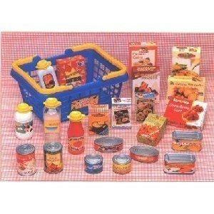 Juguetes Constructivos Red-162 Play Food Basket Para Niños