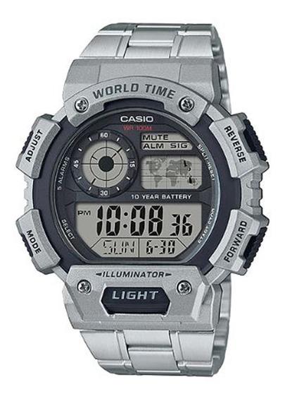 Relógio Casio Masculino Illuminator Ae-1400whd-1avd