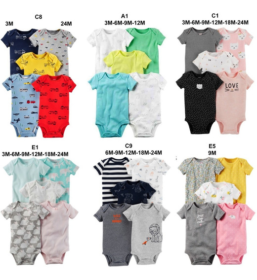 2 X Kit Conjunto Body Carters Carter