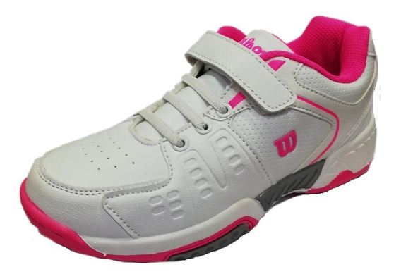Zapatillas Wilson Tenis Niñas Game Kid Suela All Court 2018