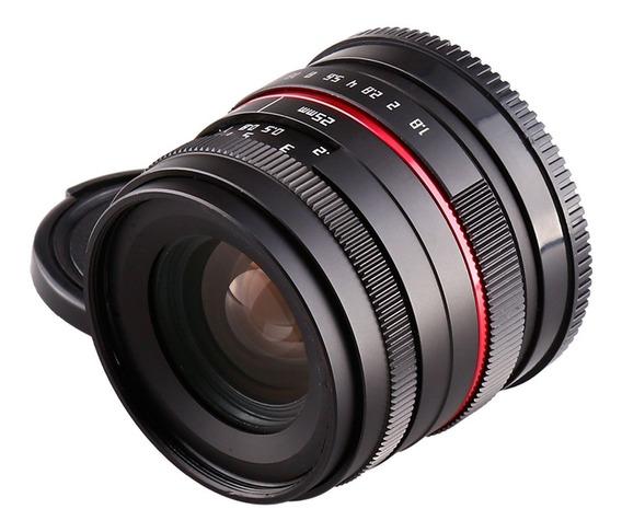Lente 25mm F1.8 Para Sony E Mount Nex A7s A6500