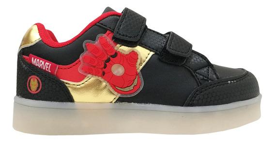 Zapatillas Marvel Casual Luces Im Niños Mvl003 1901004295112