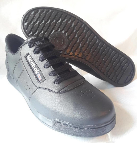 Zapatos Deportivos Escolares Negros Reebo