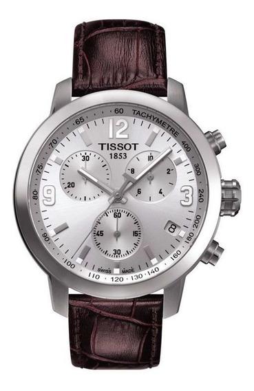 Relógio Tissot Prc 200 Chronograph Silver Dial
