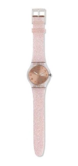 Relógio Swatch Pink Glistar Souk703
