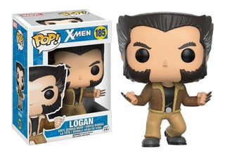 Funko Pop Logan X-men 185 Heroes Figura Original Educando