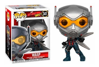 Funko Pop Marvel Ant-man Y Wasp Figura De Vinil Wasp 341