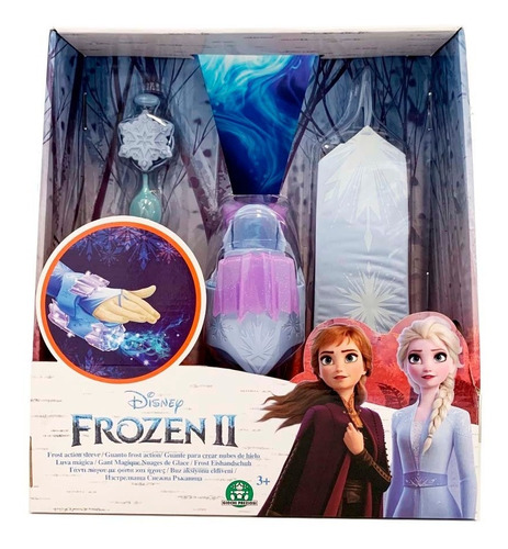 Frozen Generador De Nieve Brazalete Elsa Luz Sonid Nextpoint