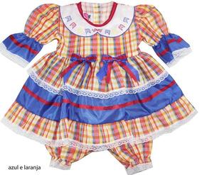 Vestido De Festa Junina 1/4 900