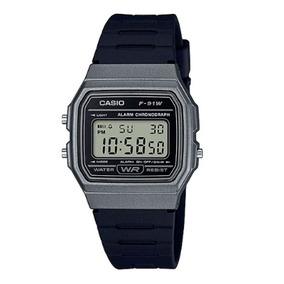 Relógio Casio Unissex Digital F-91wm-1bdf