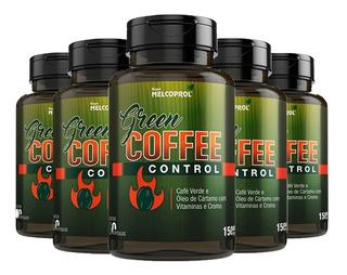 Green Coffee Control Café Verde - 5x 60 Cápsulas - Melcoprol