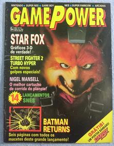 Revista Game Power Nº10 -1993 C/poster Starfox!