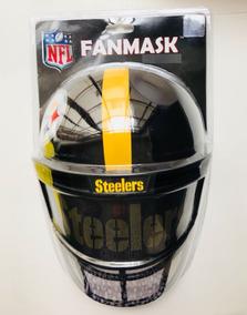 Combo De Máscaras En Forma De Careta De Steelers/raiders