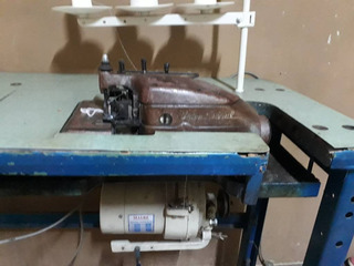 Máquina Overlock Industrial Marca Unión Especial