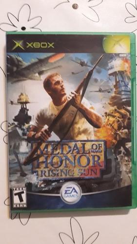 Medal Of Honor Rising Sun Original Fisico Xbox Clasica