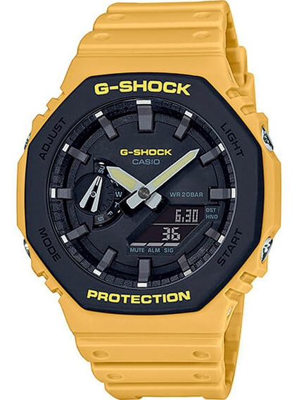 Relógio Casio G-shock Ga-2110su-9adr Carbon Core Guard