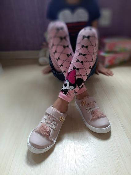 Tênis Infantil Menina Princesa