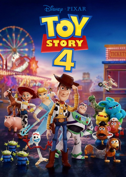 Cobija Diseño Toy Story 4