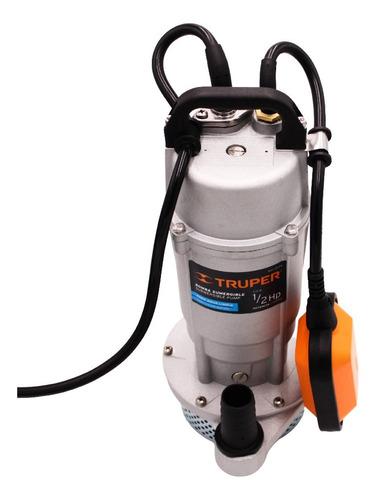 Bomba Sumergible Metalica Para Agua Limpia Uso Rudo 1/2hp 15