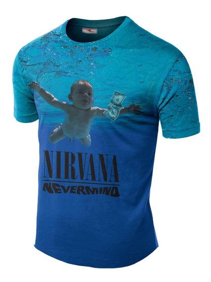 Remera Sublimada Nirvana Kurt Cobain Ranwey Cs104