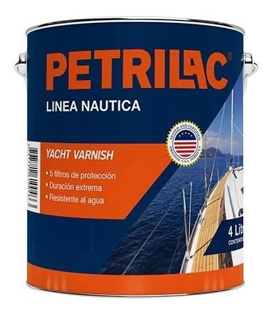 Barniz Marino Petrilac Línea Náutica - 4 Lt (no Envios)