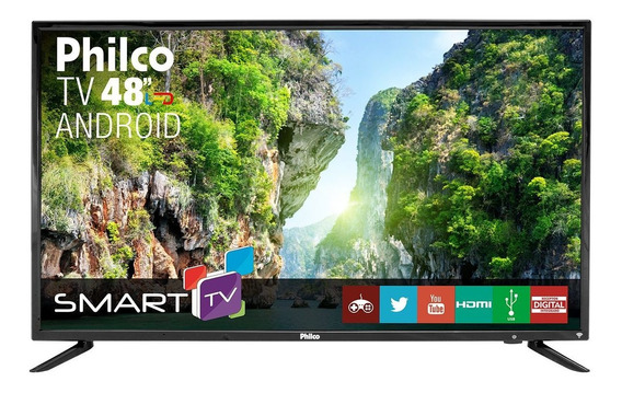 Smart Tv Philco Led Android 48 Ptv48a12dsgwa Bivolt