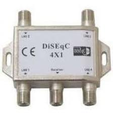 Chave Diseqc 4x1 Universal (p/ Antena Banda Ku)