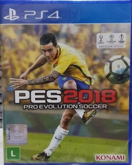 Pro Evolution Soccer 2018 - Pes 2018 Ps4-19,97 Frete