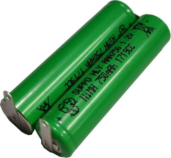 Bateria Para Waterpik 2,4v Aaa 900mah Ni-mh Tamano Palito