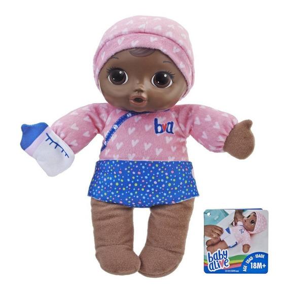 Boneca Baby Alive Dorme Bebê Negra Hasbro - E3090