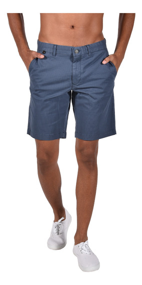 Shorts Classic Fit Tommy Hilfiger Azul Mw0mw04309-414 Hombre