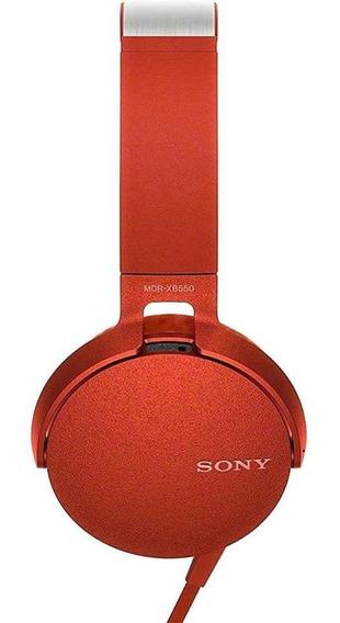 Fone De Ouvido Sony Mdr-xb550ap Extra Bass   Vitrine