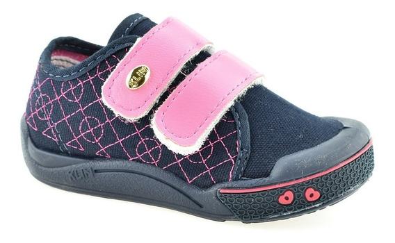 Tênis Infantil Menina Calce Fácil Klin Toy Conforto 942125