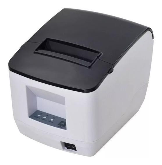 Impressora Termica Codigo De Barras Qr Code Usb Serial 80mm