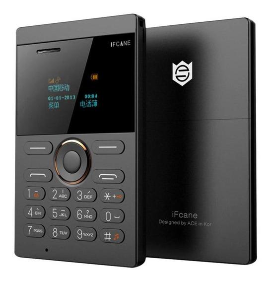 Ifcane E1 Desbloqueado Ultrathin Pocket Phone Cartão Sim