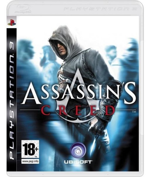 Assassins Creed 1 - Mídia Física / Ps3