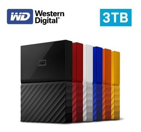 Disco Duro Externo 3tb Western Digital My Passport Wd Usb3.0