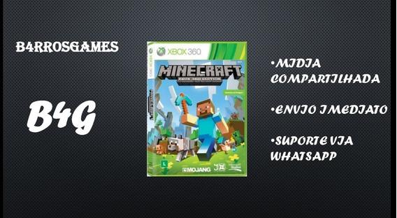 Minecraft - Xbox 360 (mídia Digital) Preço Promocional