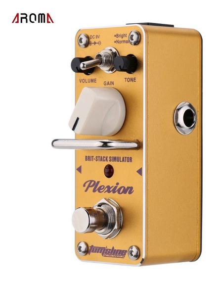 Aroma Apn-3 Plexion Brit-pilha Simulador Guitarra Pedal Mini