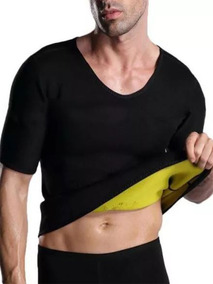 Camiseta Faja Hombre Gym Colombiana Reductora Moldeadora!!!