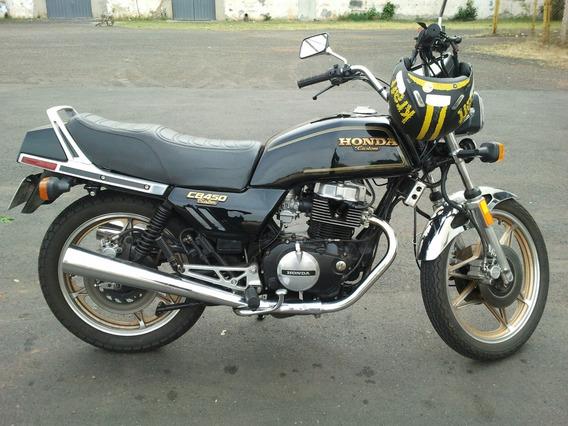 Cb450 Custom (série Ouro) / Impecável