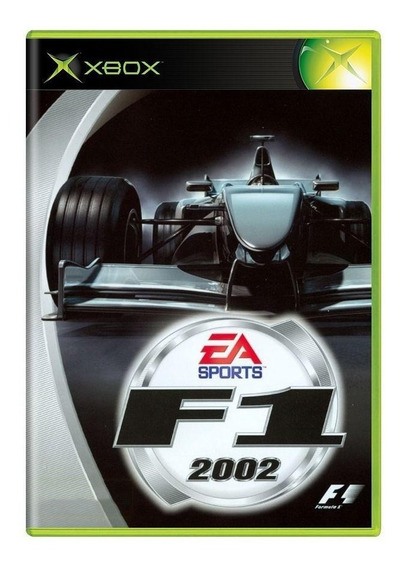 Formula 1 2002 Xbox Japonês Mídia Física Pronta Entrega