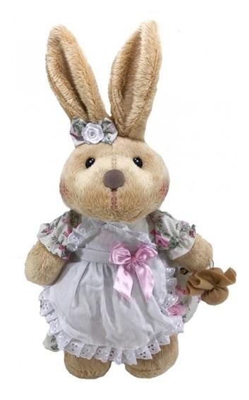 Coelha Em Pé Floral G