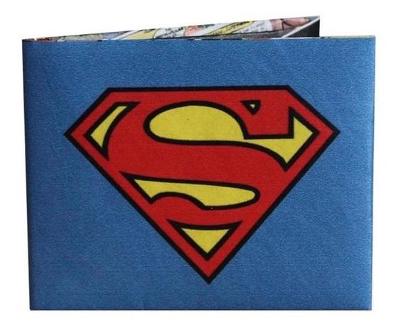 Billetera De Papel Tyvek Superman