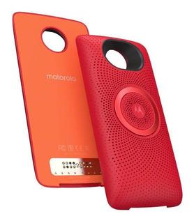 Snap De Som Original Motorola P/ Moto Z Z1 Z2 Z3 Z4 Vermelho