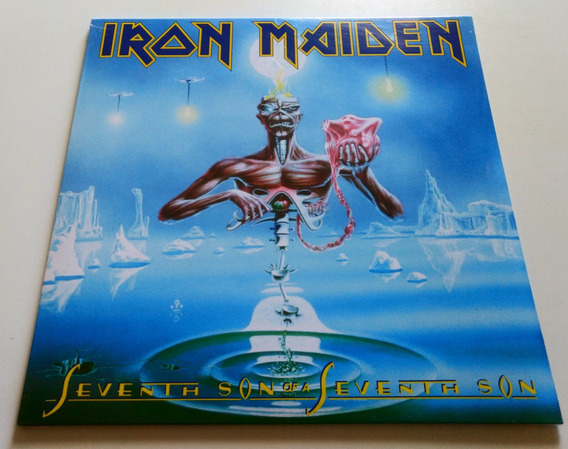 Lp Iron Maiden Seventh Son 180g Powerslave Number The Beast
