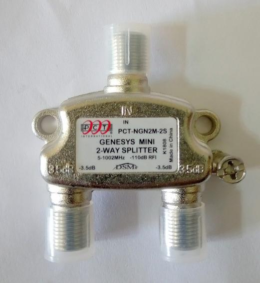 Divisor Splitter Pct 2 Vías 5-1002 Mhz X 10