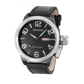 Relógio De Pulso Military Ma33399t - Relógio Magnum Original