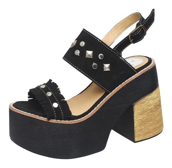 Sandalias Mujer Tachas